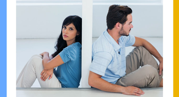 Separating or divorcing couple
